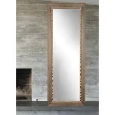 bronze wood trail full length wall mirror