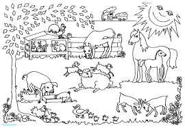 Farm 75 Beste Kleurplaat Boerderij Dejachthoorn