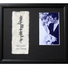 ogham gra go deo love forever framed irish wedding picture