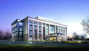 office building design ideas. Luxury Great Design Modern Office Building Plans With Grey Wall Combined Glasses Windows Can Add The Touch Inside House Desi Ideas