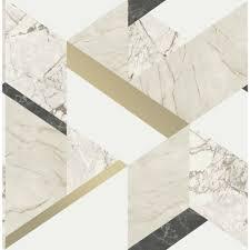 Fine Decor Marblesque Black White And ...