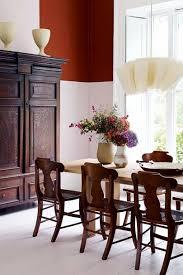terracotta panel dining room