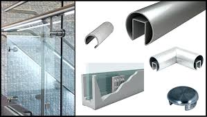 glass handrail system glass railing system frameless glass deck railing systems