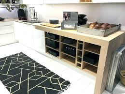 countertop shelving kitchen shelf it can also be practical to have open shelves under the counter in certain cases kitchen storage cabinet