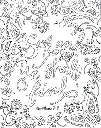 Scripture Coloring Pages For Adults Pdf Bible Verse Plus Page Adult