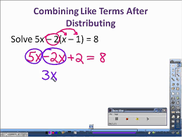 3.2 Solving Equations Using the Distributive Property and ...