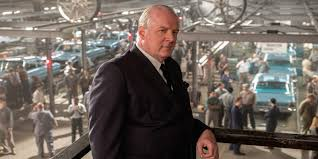 In 'Ford v Ferrari,' Tracy Letts plays Henry Ford II as imposing CEO