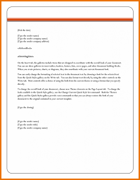 Microsoft Business Letter Templates Formal Letter Template Microsoft Word Chaserpunk