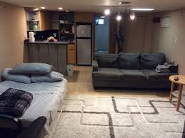 image of how to make small basement apartment brighter