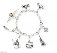 h samuel has revealed a harry potter charm bracelet on which potterheads can clip a