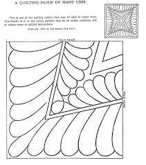 Vintage Hand Quilting Patterns – Q is for Quilter & Vintage Hand Quilting Patterns Adamdwight.com