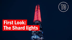 The Shard London Christmas Lights Christmas Lights At The Shard First Look Time Out