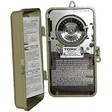 amazon com  tork 1101 n 24 hr dial time switch noryl nema 3r raintight case spst 40 amps 120 vac