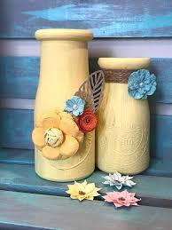 Decorative Milk Bottles