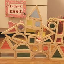 perbezaan 1 1 super creative rainbow educational toy tower pile of building blocks for