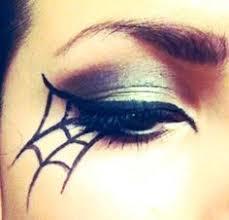 diy spiderweb eye makeup cateye eyeshadow