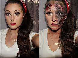 dead and alive pin up makeup tutorial for