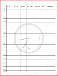 24 hour daily planner template template 24 hour weekly schedule template online calendar templates