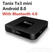 Tanix Tx3 Mini Android 8.1 Tv Box Amlogic S905W 4K RAM 2GB ROM 16GB Quad  Core Thông Minh tv Box Bluetooth 4.0 2.4G WiFi IPTV Người Chơi|Set-top  Boxes