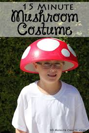 diy toad costume lovely easy 15 minute super mario inspired mushroom costume