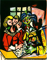 most famous paintings by picasso two figures pablo picasso