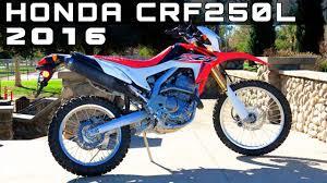 Honda Crf250l Specs 2016