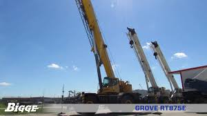 Grove Rt875 Grove Rt875 Crane Chart And Specifications