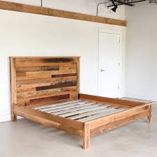 Rustic Reclaimed Wood Bed - WHAT WE MAKE
