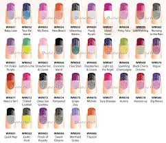 Your package includes: 36 bottle WaveGel Mood Gel Colors SET from WM051 -  WM086 (one of each)