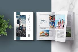 Indesign Magazine Indesign Magazine Template