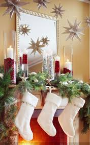 212 best Christmas Mantel Decorating Ideas images on Pinterest ...