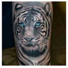 white tiger with blue eyes tattoo. Exellent Eyes This Tattoo Picture  Inside White Tiger With Blue Eyes Tattoo G
