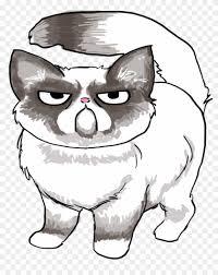 easy grumpy cat drawing. Modren Easy Drawn Grumpy Cat Easy Draw  Drawing Of And I