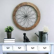 round wood wall decor august grove round medallion wood and metal wall reviews wooden wall decor