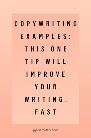 Copywriting Examples Copywriting Examples This One Trick Will Improve Your