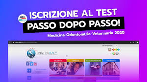 Universitaly - Come iscriversi al TEST DI MEDICINA 2020 - YouTube