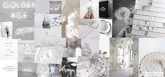 White Aesthetic Desktop Wallpapers ...