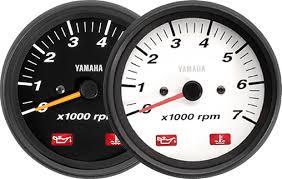 boat rigging digital and analog gauges yamaha outboards 6y7 tachometer