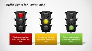 Design Traffic Light System Traffic Lights Powerpoint Template