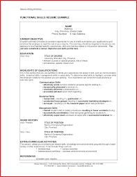 Examples Of Resume Skills New Special Skills Resume formal letter 12