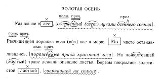 Уроки русского языка в классе Урок Диктант был проведен в период изучения причастий Семиклассники должны были объяснить графически написание н нн в суффиксах причастий и знаки препинания