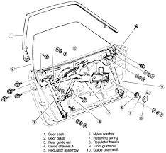 Car door regulator fresh repair guides interior door glass and regulator of 44 beautiful car door