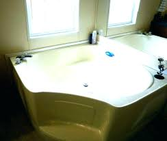 bathtub jacuzzi kit whirlpool bath shower spa straight 1