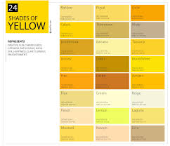 Beige Color Chart 24 Shades Of Yellow Color Palette Graf1x Com
