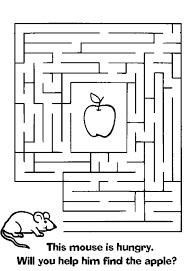 Labirinti 41 Disegni Da Colorare 24