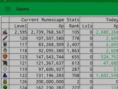 Runescape Xp Chart Runetrack 6 0 Free Download