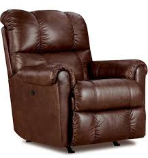 Amazon Lane Furniture Eureka Recliner in Savage Cocoa Brown