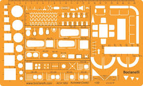 Chart Correction Stencil 1 50 Scale Architectural Drawing Template Stencil