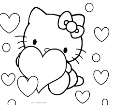 Hello Kitty Christmas Coloring Pages Free Print Zupa Miljevcicom