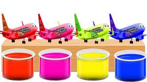 Bathing Colors Fun L Disney Cars 3 Mcqueen Plane L Colors For